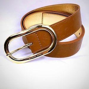 🆕 NWT Michael Kors Brown Belt sz XL